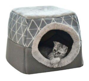 Из лежанки в домик и наоборот. Трансформер для котеек и небольших собачек