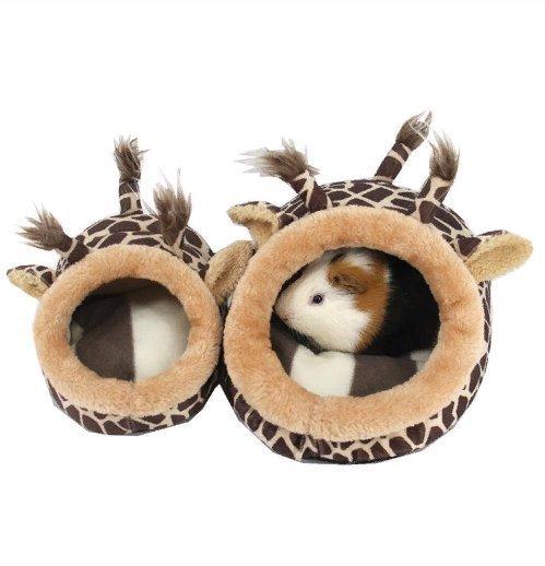 Домик в виде жирафа для солидных свинок, кроликов и хорьков