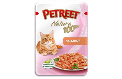 Petreet Паучи для кошек Лосось