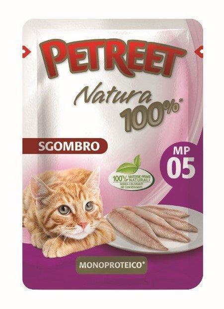 Petreet Паучи для кошек Макрель 70 г