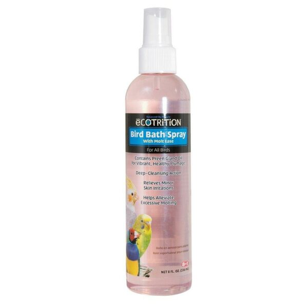 8in1 средство для птиц для очищения перьев Bird Bath Spray с алоэ вера спрей 236 мл