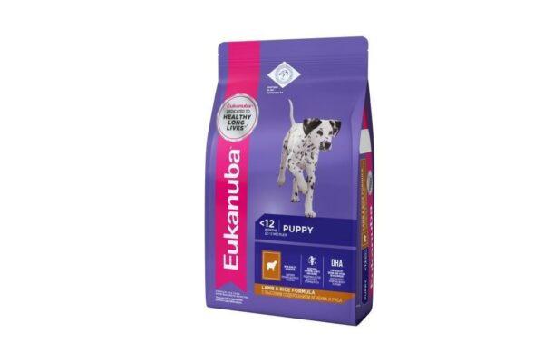 EUK Dog корм для щенков всех пород ягненок 2,5 кг.