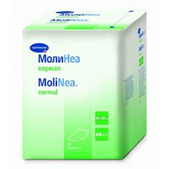 Hartmann MoliNea normal Пеленки впитывающие 40х60 см, 80 г/м2, 30 шт. СКИДКА 15%