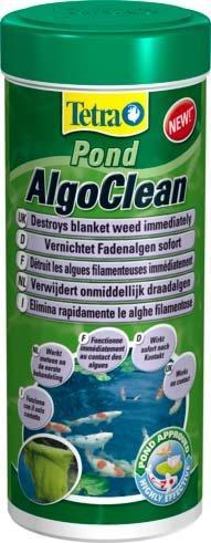 Tetra Pond AlgoClean средство для мгновенного уничтожения нитчатых водорослей купить