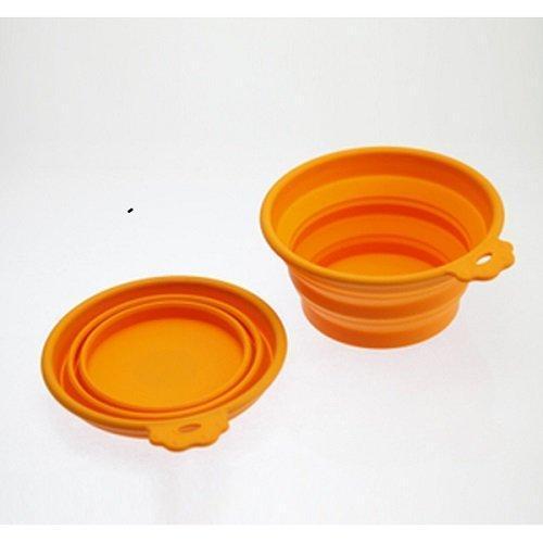 SuperDesign миска силиконовая складная средняя 710 мл оранжевая