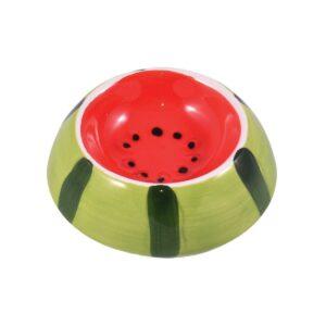 КерамикАрт миска керамическая для грызунов  Арбузик