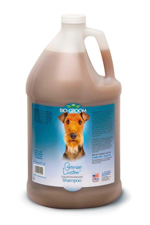 Bio-Groom Bronze Lustre шампунь-ополаскиватель для собак коричневого окраса 3,8 л
