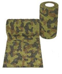 Andover PetFlex бандаж, 5 см х 4,5 м, «зеленый камуфляж»