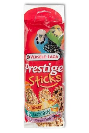 VERSELE-LAGA палочки для волнистых попугаев Prestige микс с медом, фруктами и ягодами