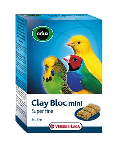 VERSELE-LAGA минеральный блок для мелких птиц Orlux Clay Bloc mini с глиной