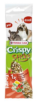 VERSELE-LAGA палочка для кроликов и шиншилл Crispy с травами