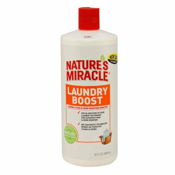 8in1 средство для стирки NM Laundry Boost для уничтожения пятен, запахов и аллергенов