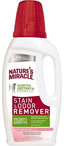 8in1 уничтожитель пятен и запахов от собак NM универсальный с ароматом грейпфрута 946 мл