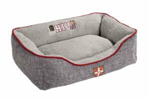 Hunter софа для собак University S, 40х60 x20 см, серая.