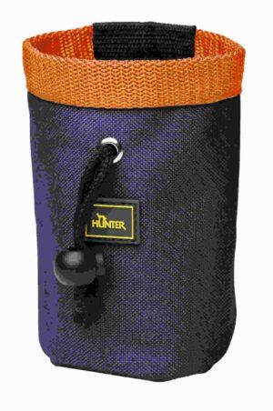 Hunter сумочка для лакомств Basic простая темно-синяя