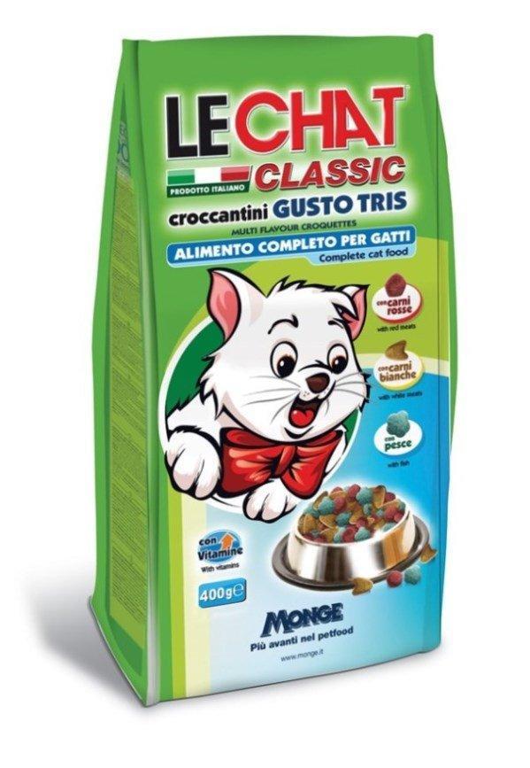 Lechat Cat Gusto Tris корм для кошек трио вкусов (говядина, курица, рыба)