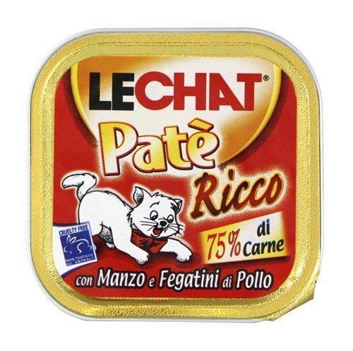 Lechat консервы для кошек говядина/куриная печень