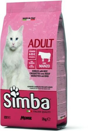 Simba Cat корм для кошек с говядиной
