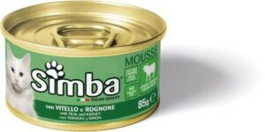 Simba Cat Mousse мусс для кошек телятина/почки
