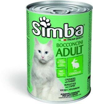 Simba Cat консервы для кошек паштет кролик