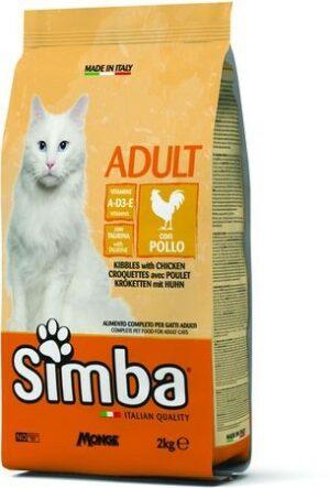 Simba Cat корм для кошек с курицей