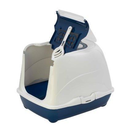 Moderna био-туалет Flip Cat с совком, синий