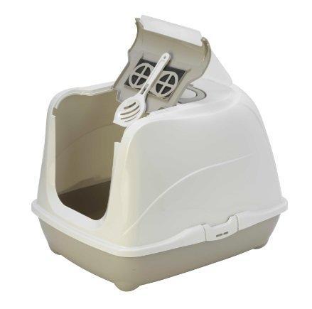 Moderna био-туалет Flip Cat  с совком, серый