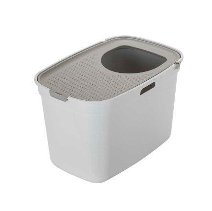 Moderna био-туалет Top Cat  вертикальный вход, бело-серый