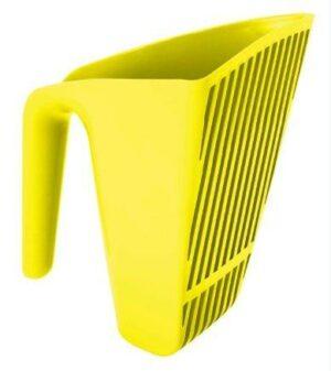 Moderna совочек Scoop & Sift  отверстия узкие, желтый