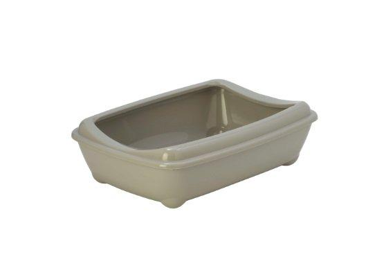 Moderna туалет-лоток Arist-o-tray M c бортом  серый