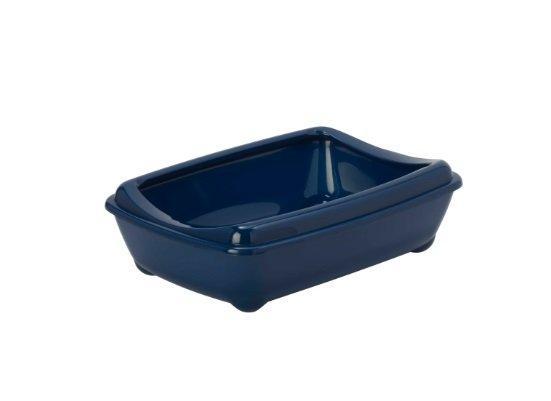 Moderna туалет-лоток Arist-o-tray M c бортом   синий