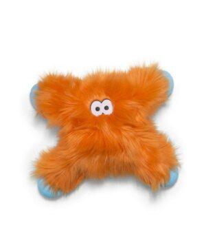 Zogoflex Rowdies игрушка плюшевая для собак Lincoln  оранжевая