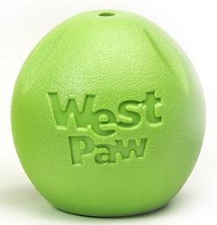 Zogoflex игрушка для собак мячик Rando салатовый