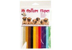4Pups ID набор ошейников для щенков разноцветные