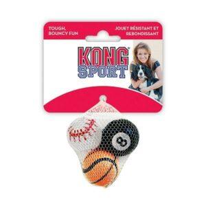 """KONG игрушка для собак Air Sport """"Теннисный мяч"""" очень маленький  без пищалки"""