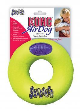 """KONG игрушка для собак Air """"Кольцо"""" среднее"""