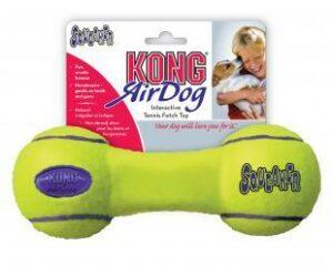 """KONG игрушка для собак Air """"Гантель"""" средняя"""