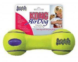 """KONG игрушка для собак Air """"Гантель"""" малая"""