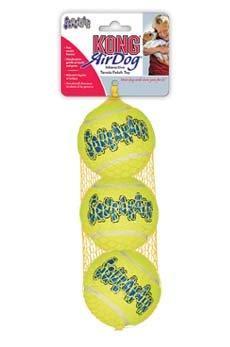 """KONG игрушка для собак Air """"Теннисный мяч"""" средний"""