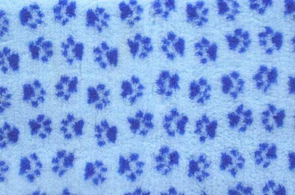ProFleece коврик меховой 35х50 см голубой/синий