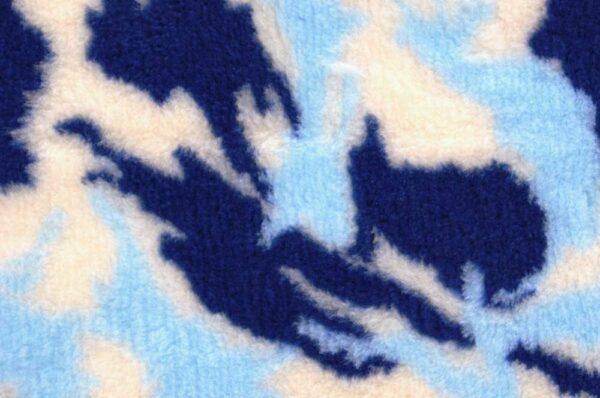 ProFleece коврик меховой 1х1,6 м камуфляж синий/голубой/белый СКИДКА 30%