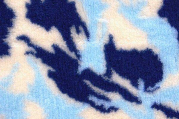 ProFleece коврик меховой 35х50 см камуфляж синий/голубой/белый