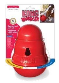 KONG игрушка интерактивная для крупных собак Wobbler