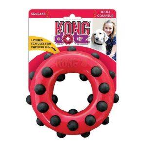 KONG игрушка для собак Dotz кольцо малое
