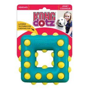 KONG игрушка для собак Dotz квадрат малый