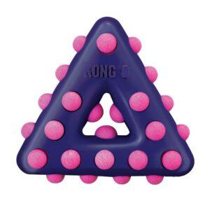 KONG игрушка для собак Dotz треугольник малый