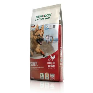 Сухой корм Bewi Dog Sport Croc для собак при высокой активности и нагрузках с домашней птицей