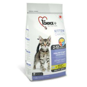 1st Choice Здоровый старт для котят с цыпленком