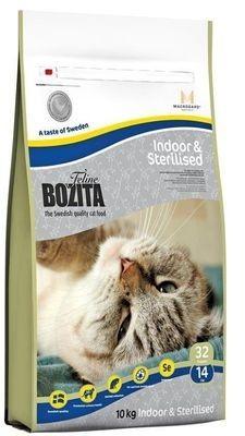 BOZITA Funktion Indoor&Sterilised сух.корм д/Домашних и кастрированных кошек 10кг
