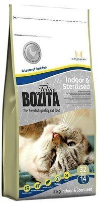 BOZITA Funktion Indoor&Sterilised сух.корм д/Домашних и стерилизованных кошек
